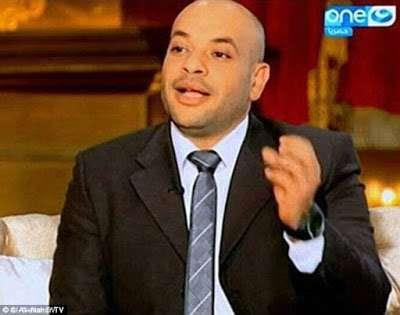 The blogger, Taymour el-Sobki