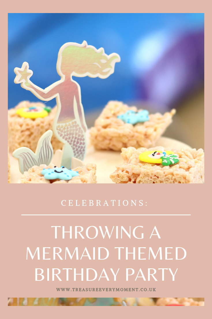 CELEBRATIONS: Our Joint 4th and 2nd Mermaid Themed Birthday Party