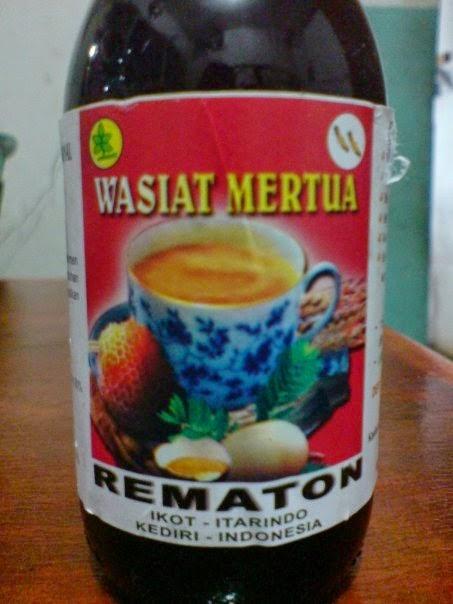 adalah minuman yg mengandung pemanis tradisional khusus untuk PRIA BERISTERI Jual Rematon Jamu Wasiat Mertua Balikpapan