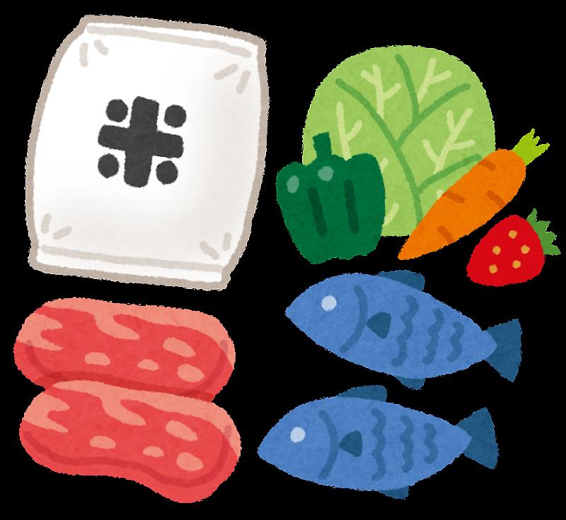 「食品 イラスト」の画像検索結果