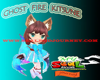 Ghost Fire Kitsune Seal Online BoD