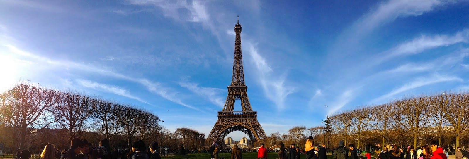 Jalan-Jalan di Paris - Eiffel Tower Panorama from Champ de Mars
