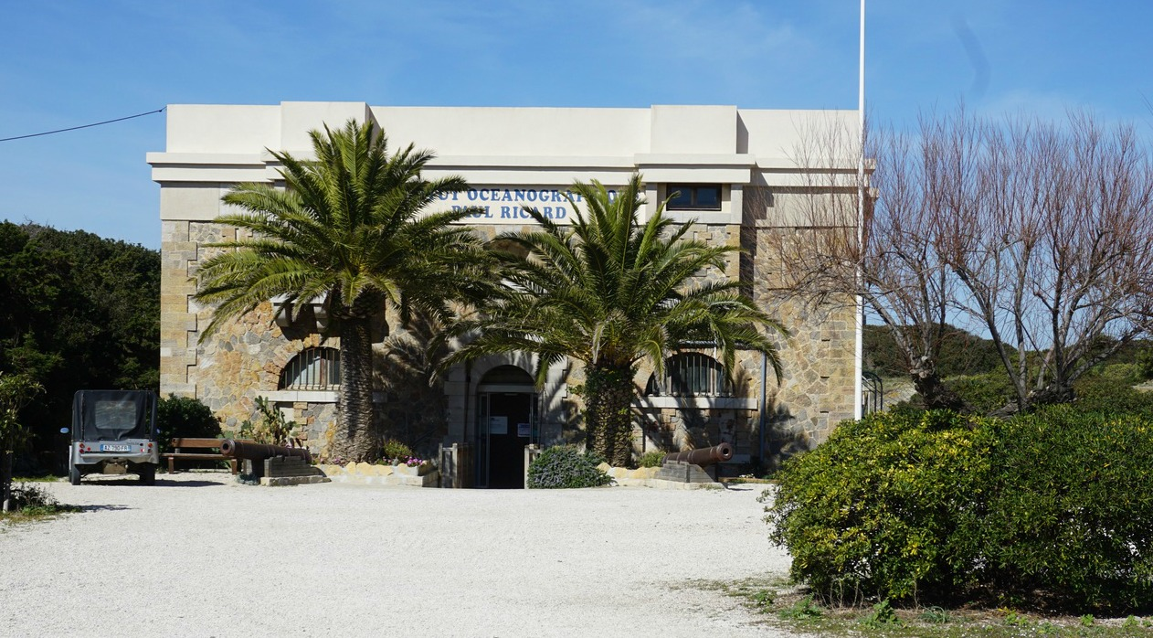 Oceanographic museum on Ile des Embiez