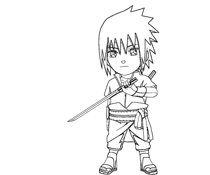 sasuke uchiha coloring pages - photo#6