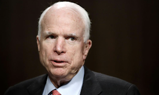 Sen. John McCain delivers a potentially fatal blow to GOP effort to repeal Obamacare