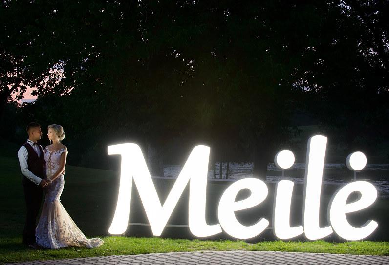 vestuvių raidės Meilė Plungėje
