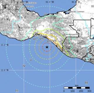 Σοβαρότερη είναι η κατάσταση σε περιοχές του νότιου Μεξικού