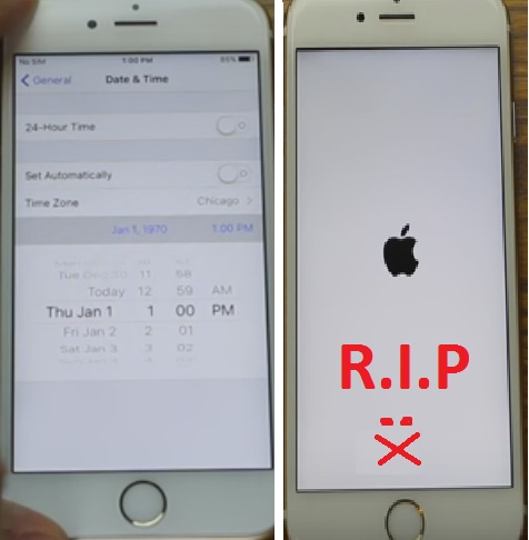 how to kill an iphone in one simple step