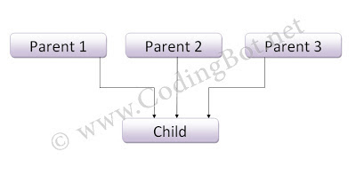 Multiple Inheritance And Its C++ Program
