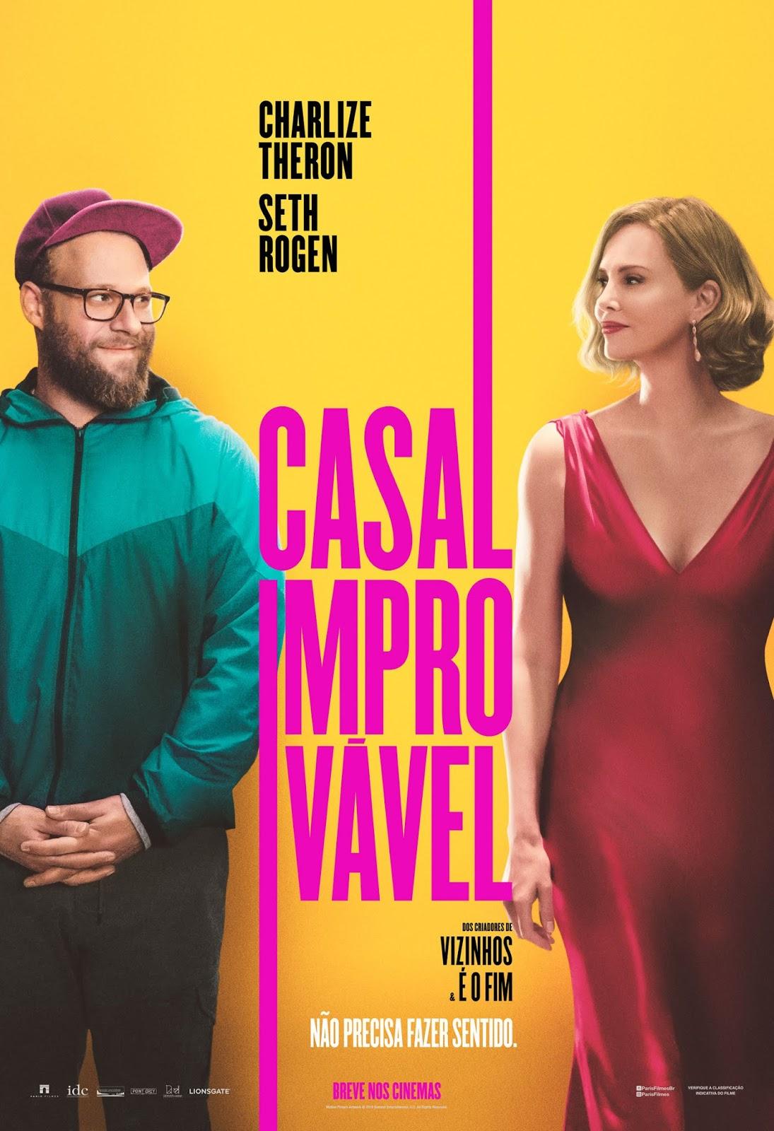 Capa do Filme Casal Improvável