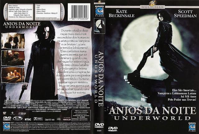Capa DVD Anjos da Noite
