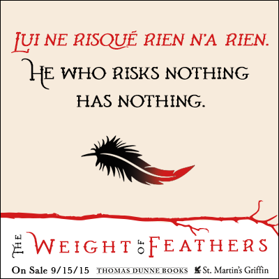 The Mod Podge Bookshelf: Blog Tour: The Weight of Feathers EXCERPT + GIVEAWAY!