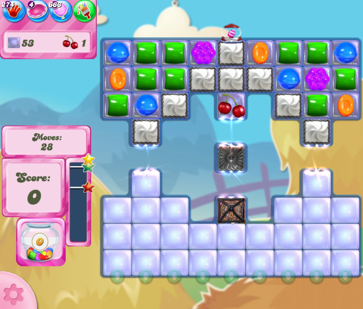 Candy Crush Saga level 2701