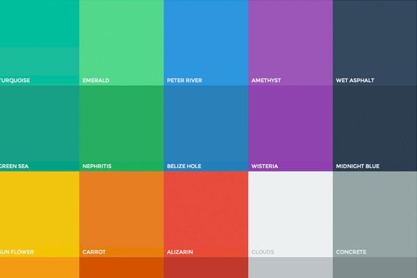 Membuat Color Picker Responsive Flat UI di Laman Statis Blogger