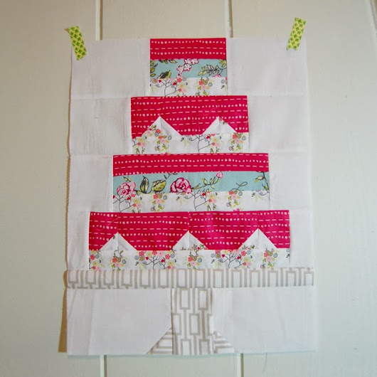 Snapshots Quilt Along _block 1 _ Let Them Eat Cake!