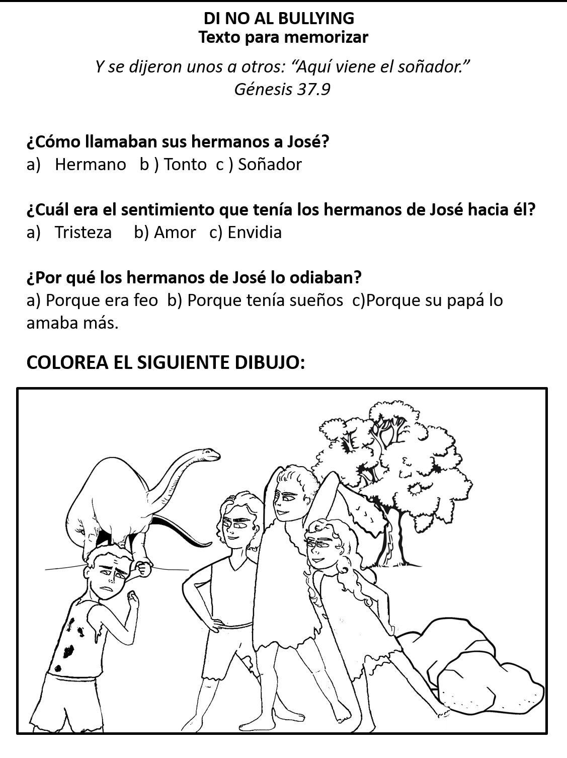 Imagenes Para Colorear De Ninos Haciendo Bullying Dibujos Para