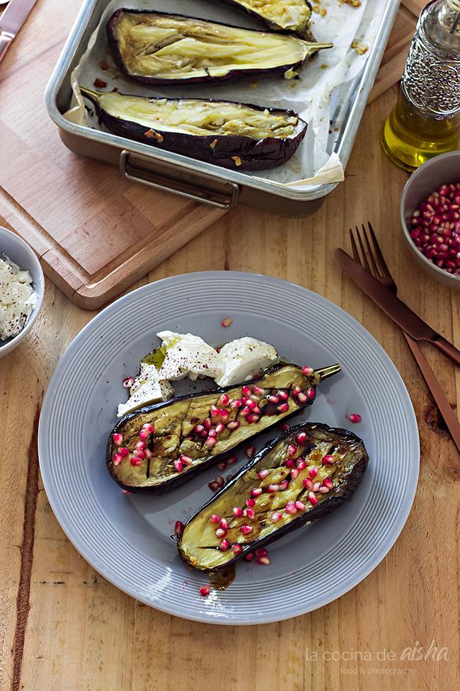 grilled-eggplant-pomegranate-ricotta