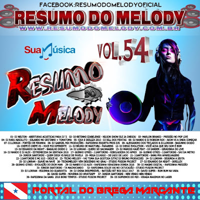 Cd Resumo do Melody vol.54
