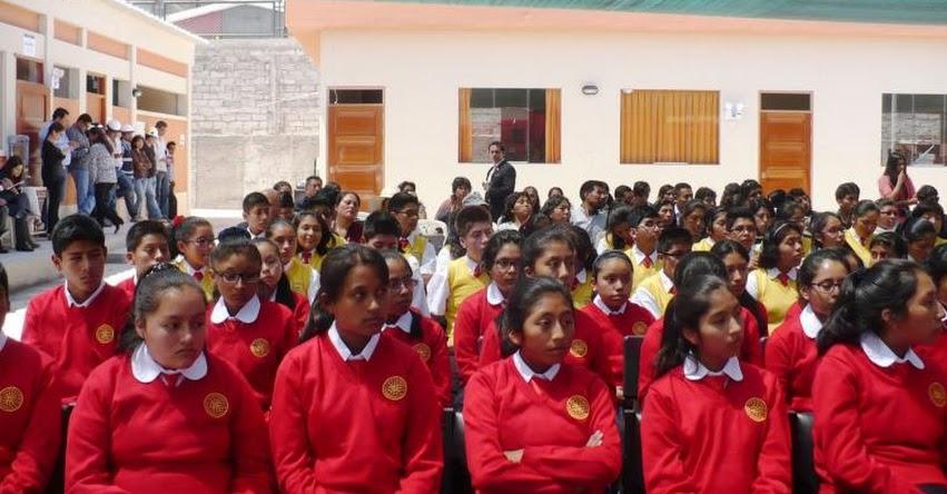 COAR: 7 Colegios de Alto Rendimiento inician el año escolar 2017 hoy Lunes 17 Abril