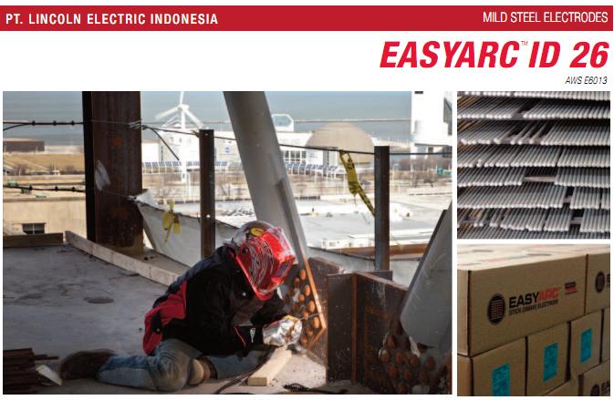 Easyarc Id 26 Aws 6013 Lincoln Electric
