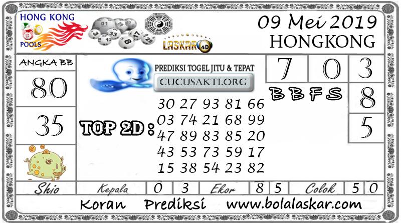 Prediksi Togel HONGKONG LASKAR4D 09 MEI 2019