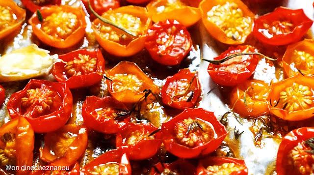 tomates , tomates confites , sous vide , cuisine italienne