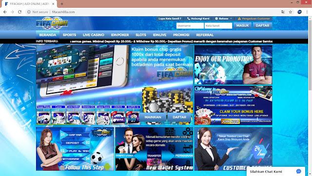 Daftar Situs Judi Taruhan Bola Online Terpercaya FIFACASH Bandar Bola Online Indonesia
