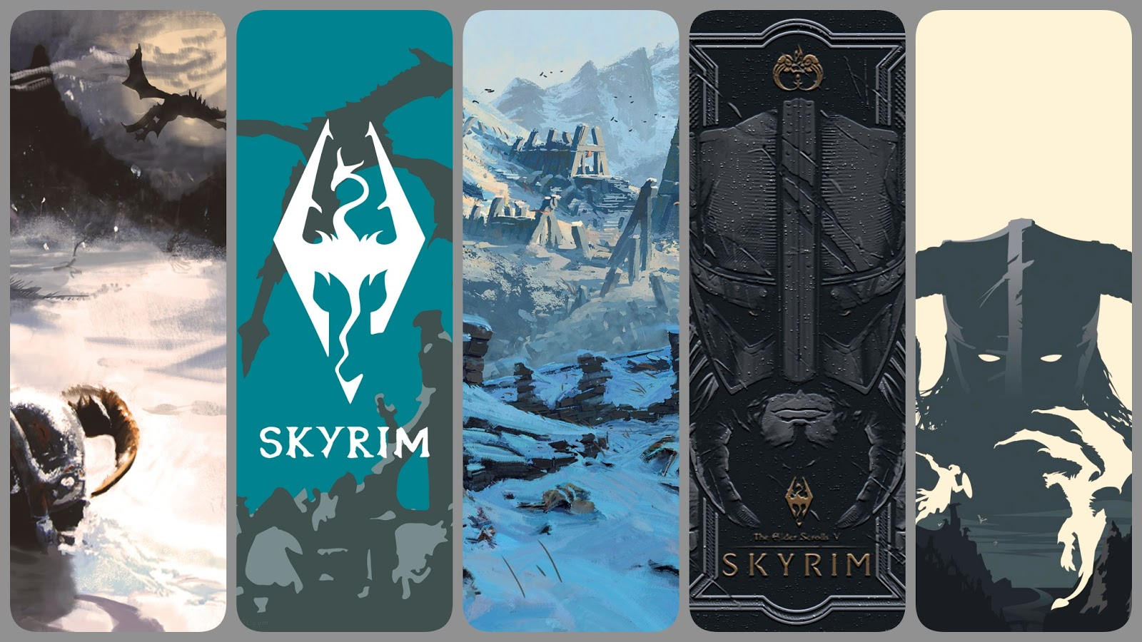 Skyrim phone wallpaper collection