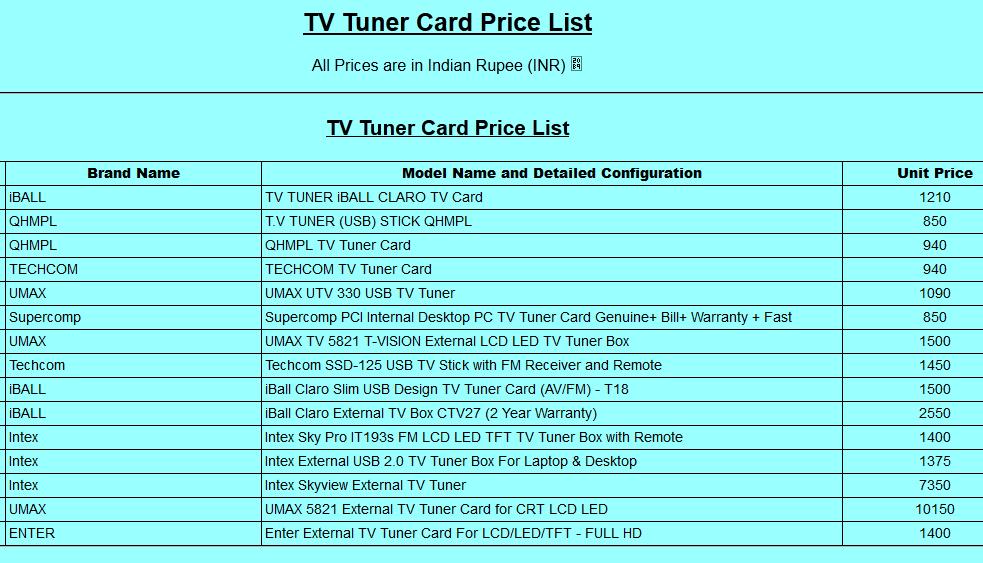 wise tv price