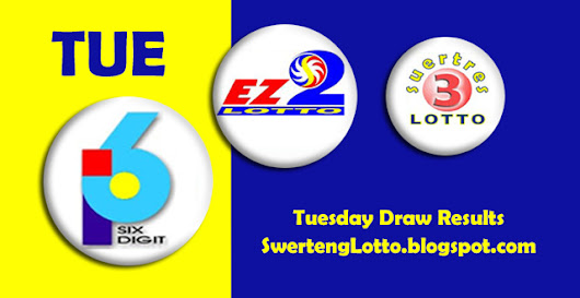 July 28, 2015 - EZ2, Swertres 3 Digit, 6 Digit Official PCSO Lotto Draw Results Tuesday | Philippine PCSO Lotto Draw Results Today!