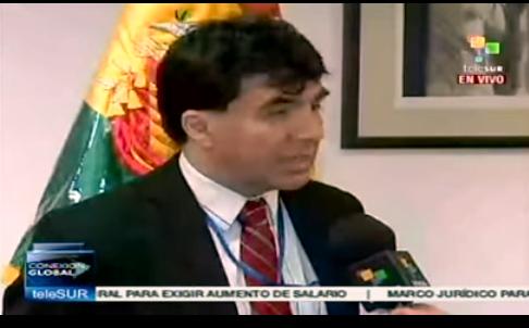 Archondo trabajó en NNUU durante tres años como representante alterno, un rango inferior a embajador