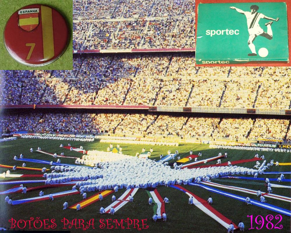 c58865c6d4 Botões para Sempre  Sportec original da Copa de 1982 -  Fúria  Espanhola