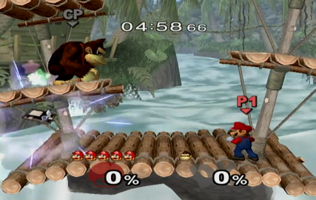 Image result for gamecube  melee screenshot
