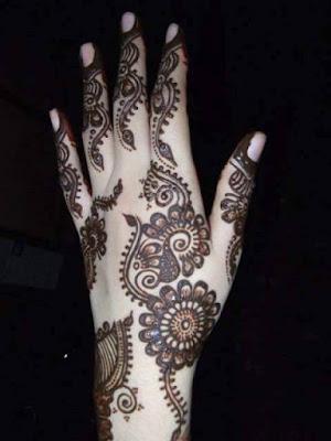 Best Mehandi Designs For Hands