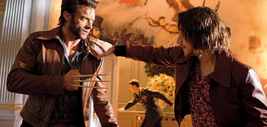Wolverine şi tânărul Profesor X
