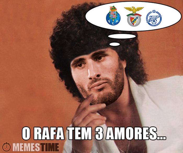 Memes Rafa Silva – O Rafa tem 3 amores (Porto, Benfica e Zenith)