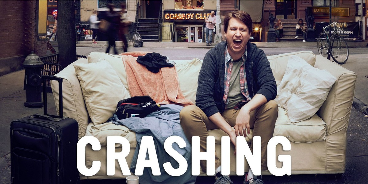 Pete Holmes en 'Crashing'