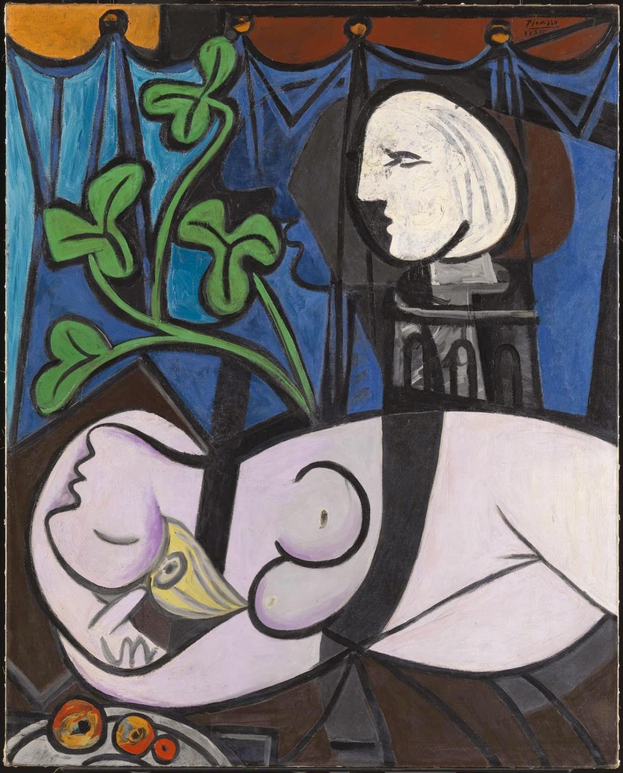 Nu, Folhas Verdes e Busto - Picasso e suas pinturas ~ O maior expoente da Arte Moderna