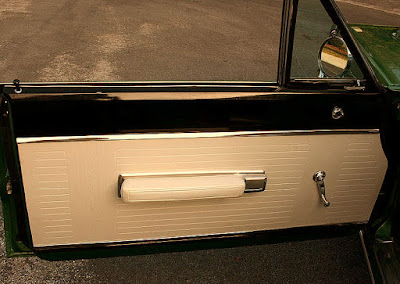 1967 Plymouth GTX 440 Magnum Sports Coupe Door Interior