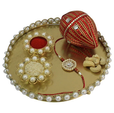 simple-raksha-bandhan-thali-decoration-designs-photos