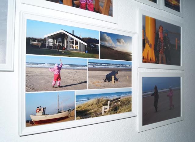 Warum Fotos die schönsten Geschenke sind (+ Verlosung). Mit Collagen für unsere Fotowand kann ich ganze Themen und Ausflüge farblich abgestimmt darstellen.