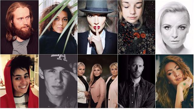 Participantes del Dansk Melodi Grand Prix 2018