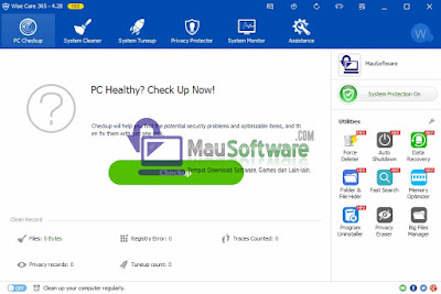 download software utilities terbaru wise care 365 terbaik, terbagus, terpopuler