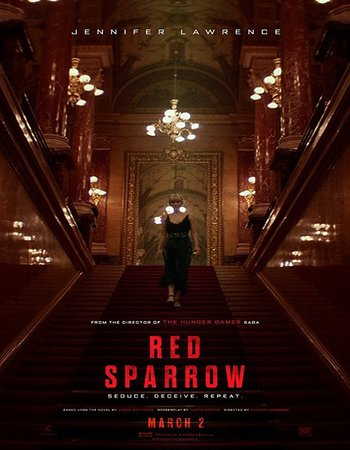Red Sparrow (2018) English HDCAM 480p