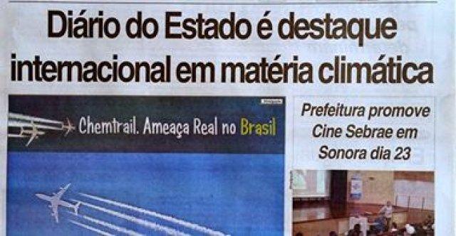 Chemtrail - Diário do Estado - Brasil-1