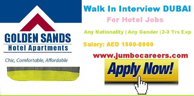 Latest hotel jobs in Dubai 2018. Hotel jobs salary in Dubai 2018.