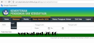 gambar Informasi Terbaru Perubahan Menu dan Proses Aplikasi Vervalpd