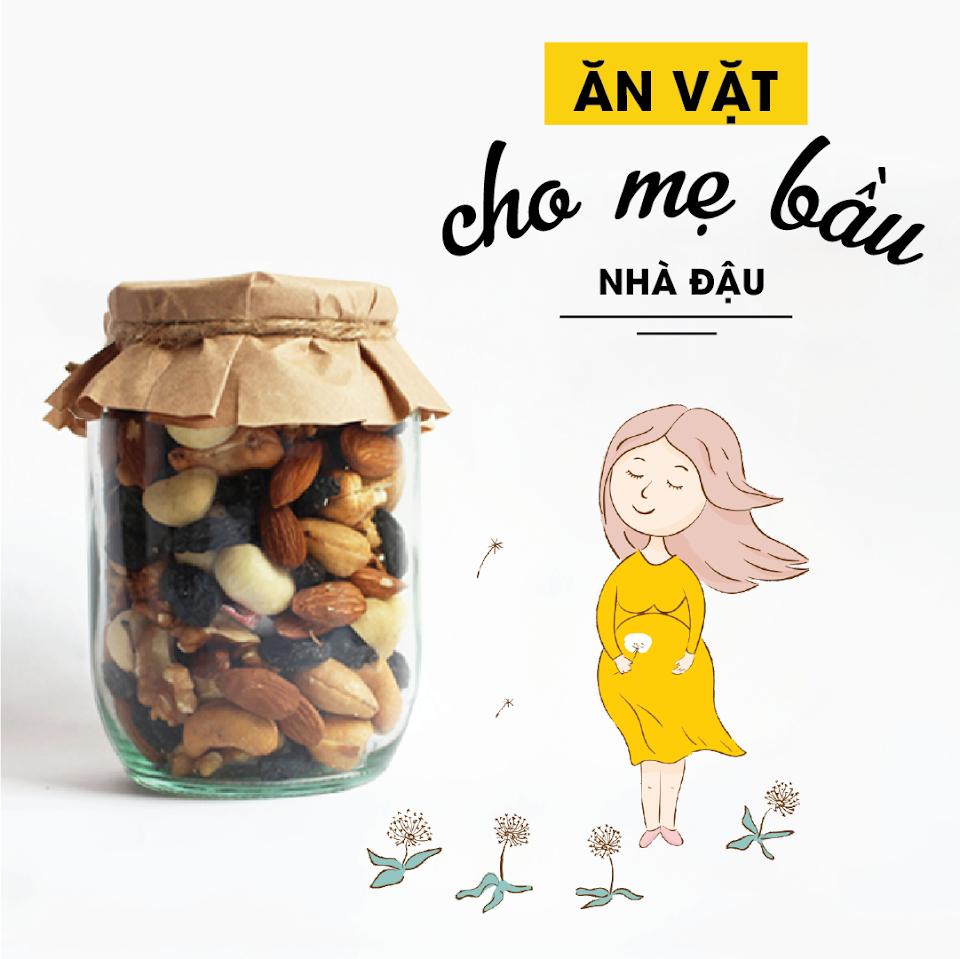 [A36] Mẹo ăn vặt lành mạnh giúp Mẹ Bầu giữ dáng