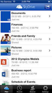 SkyDrive for iOS updated, now supports iPhone 5 and iPad mini
