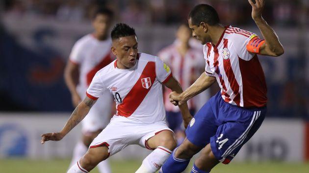 Perú vs Paraguay se enfrentan en un partido amistoso